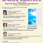 Cartel conferencias Valladolid