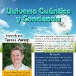 Cartel Curso Universo Cuántico y Conciencia