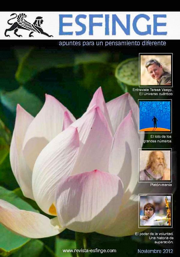 Portada revista esfinge noviembre 2012