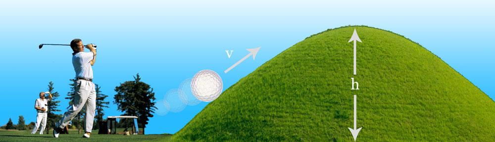 efecto tunneling cuántico simil golf
