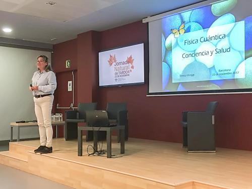 Col·legi Oficial d'Infermeres i Infermers de Barcelona amb Teresa Versyp